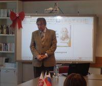 Wizyta prof. Piotra Bucharkina