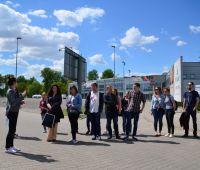 Studenci WE z wizytą w Targach Lublin S.A.