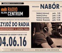 Radio Centrum ogłasza nabór!