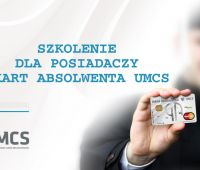 Program Absolwent UMCS zaprasza na szkolenie