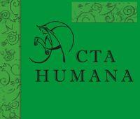 """""""Acta Humana"""" - nabór artykułów do numeru 7 (2016)"""