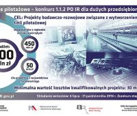 Linie Pilotażowe - III edycja konkursu Demonstrator