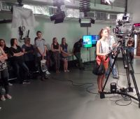 Warsztaty w TV UMCS i Akademickim Radiu Centrum