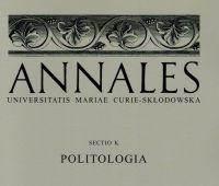 New Volume of Annales UMCS Sectio K: Politologia