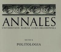 "Nowy numer ""Annales UMCS Sectio K: Politologia"""