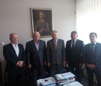 Wizyta na UMCS delegacji lwowskiego instytutu Narodowej...