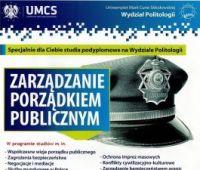 Zarządzanie Porządkiem Publicznym - rekrutacja na studia