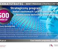 TECHMATSTRATEG - nowy program strategiczny NCBR