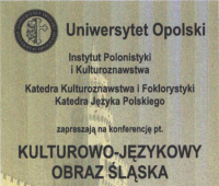 Kulturowo-językowy obraz Śląska - 6-7 kwietnia 2016
