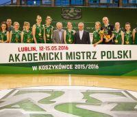 Akademickie Mistrzostwa Polski - srebrny medal dla UMCS!