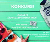Wakacje z Kartą Absolwenta UMCS - konkurs