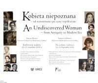 """""""Kobieta niepoznana"""" - prezentacja towarzysząca..."""