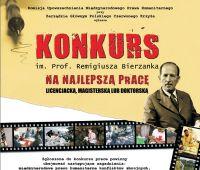 XIX edycja konkursu im. Prof. Remigiusza Bierzanka
