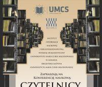 Zaproszenie: Czytelnicy – zasoby informacji i wiedzy. O...