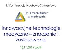 IV Konferencja Naukowo-Szkoleniowa - Dni Trzech Kultur w...