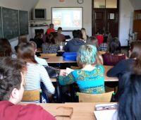 Visitas nas Escolas Secundárias da Região de Lublin