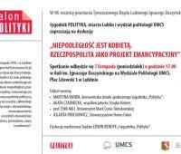 Salon POLITYKI - zaproszenie na debatę!