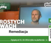 TV UMCS dla PlatonTV - prof. Paweł Frelik o remediacji
