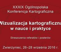 39 Ogólnopolska Konferencja Kartograficzna
