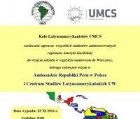 Latin Americanist Club study trip
