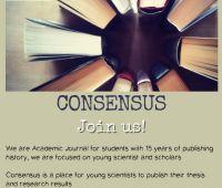 "Academic Journal ""Consensus"" invites students..."