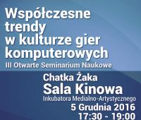 Stanisław Skulimowski o trendach w kulturze gier...