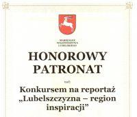 """Konkurs """"Lubelszczyzna - region inspiracji"""""""