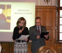 Profesor Michał Łesiów we wspomnieniach współpracowników...