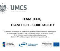 Spotkanie informacyjne nt. konkursu  TEAM TECH