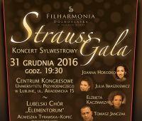 Strauss Gala - zaproszenie na Galę Sylwestrową