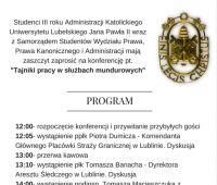 Tajniki pracy w służbach mundurowych – zaproszenie na...