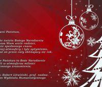 Życzenia Dziekana Wydziału Humanistycznego