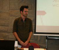 Michał Belina - Palestra sobre a Língua Mirandesa