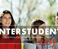 Vote for UMCS student for the INTERSTUDENT 2017 award