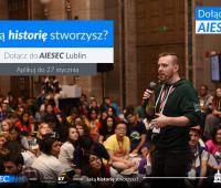 A Ty, jaką historię stworzysz? Dołącz do AIESEC!