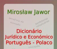 Portugalsko-polski słownik terminów prawniczych i...
