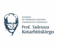 Konkurs o Nagrodę im. Prof. Tadeusza Kotarbińskiego za...