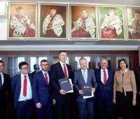 Podpisanie umowy z Bankiem Zachodnim WBK S.A.