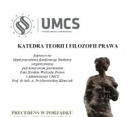 PRECEDENS W PORZĄDKU  PRAWA STANOWIONEGO (20.03.2017r.)