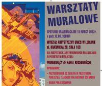 Relacja z warsztatów muralowych w Wasilkowie.