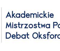 Warsztaty Akademickich Mistrzostw Polski Debat Oksfordzkich