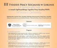 III Tydzień Pracy Socjalnej w Lublinie