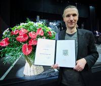Piotr Selim z Medalem 700-lecia Lublina