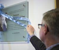 Odsłonięcie tablicy pamiątkowej ku czci Prof. M. Łesiowa