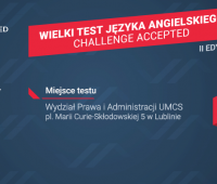 Wielki Test Języka Angielskiego Challenge Accepted II