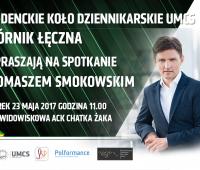 Spotkanie z Tomaszem Smokowskim