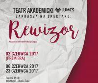 "Teatr Akademicki UMCS - spektakl ""Rewizor"""