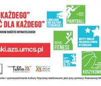 Bezpłatne zajęcia sportowo-rekreacyjne z AZS UMCS