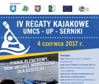 Regaty kajakowe w Sernikach (4 czerwca 2017)