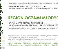 Prezentacje prac dyplomowych - Gospodarka Przestrzenna 2017